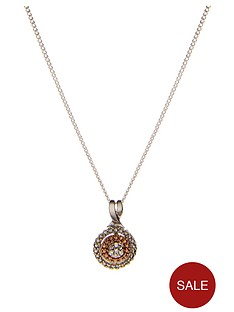 love-silver-9-carat-rose-gold-and-sterling-silver-diamond-set-circle-pendant