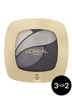 loreal-paris-color-riche-eyeshadow-quad-e5-smoky-velours-noir
