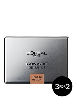 loreal-paris-paris-brow-artiste-genius-kit-light-med
