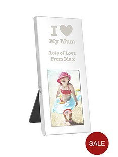 personalised-i-love-mini-photo-frame