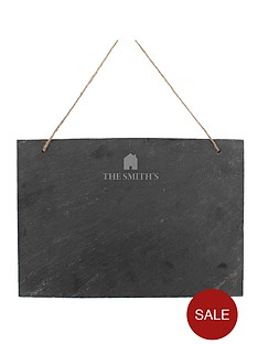 personalised-household-slate-chalk-board