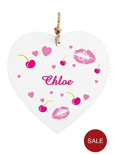 personalised-lips-wooden-hanging-heart