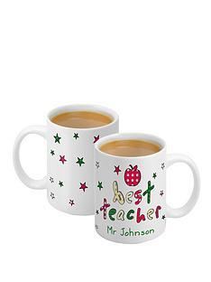 personalised-best-teacher-mug