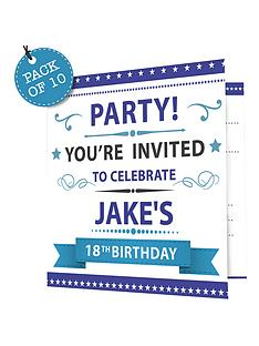 personalised-birthday-age-invitations-pack-of-10