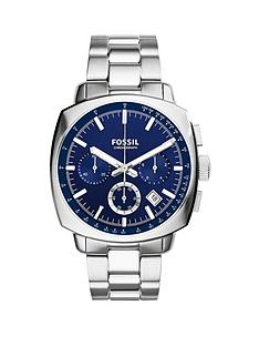 fossil-haywood-chronograph-stainless-steel-blue-dial-mens-watch