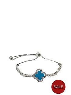 love-gem-sterling-silver-cubic-zirconia-and-turquoise-slider-bracelet