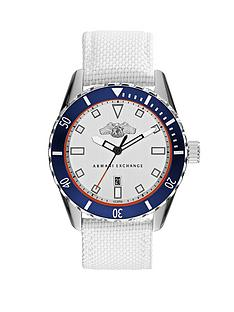 armani-exchange-silver-dial-and-white-woven-nylon-strap-mens-watch