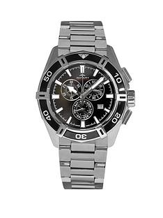 rotary-swiss-aquaspeed-chronograph-black-dial-stainless-steel-bracelet-mens-watch