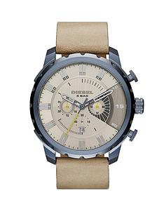 diesel-stronghold-taupe-multi-dial-with-light-brown-leather-strap-mens-watch