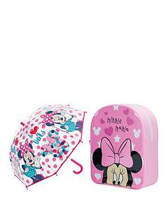 minnie-mouse-back-pack-and-umbrella-set
