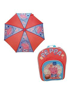 peppa-pig-back-pack-and-umbrella-set
