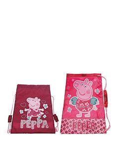 peppa-pig-shoe-and-swim-bag-set