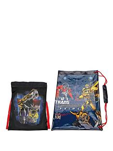 transformers-shoe-and-swim-bag-set