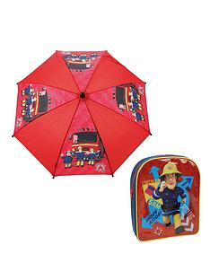 fireman-sam-back-pack-and-umbrella-set