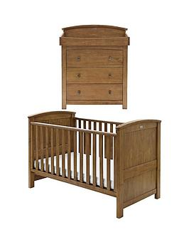 silver-cross-ashby-cot-bed-and-dresser