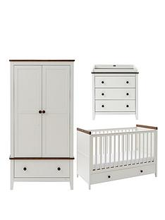 silver-cross-porterhouse-cot-bed-dresser-and-wardrobe