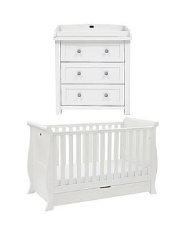 silver-cross-nostalgia-sleigh-cot-bed-and-dresser