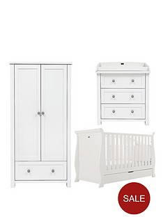 silver-cross-nostalgia-sleigh-cot-bed-dresser-and-wardrobe