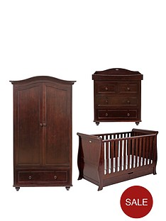 silver-cross-dorchester-sleigh-cot-bed-dresser-and-wardrobe