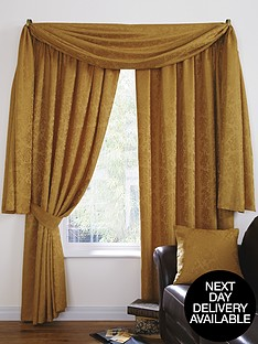 Living Room Valances Swags Tails Curtains Blinds Home Garden