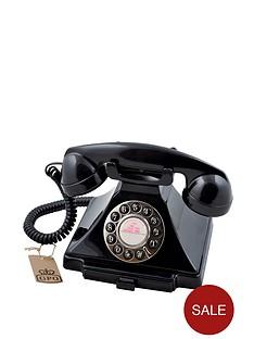 gpo-carrington-classic-retro-telephone-black