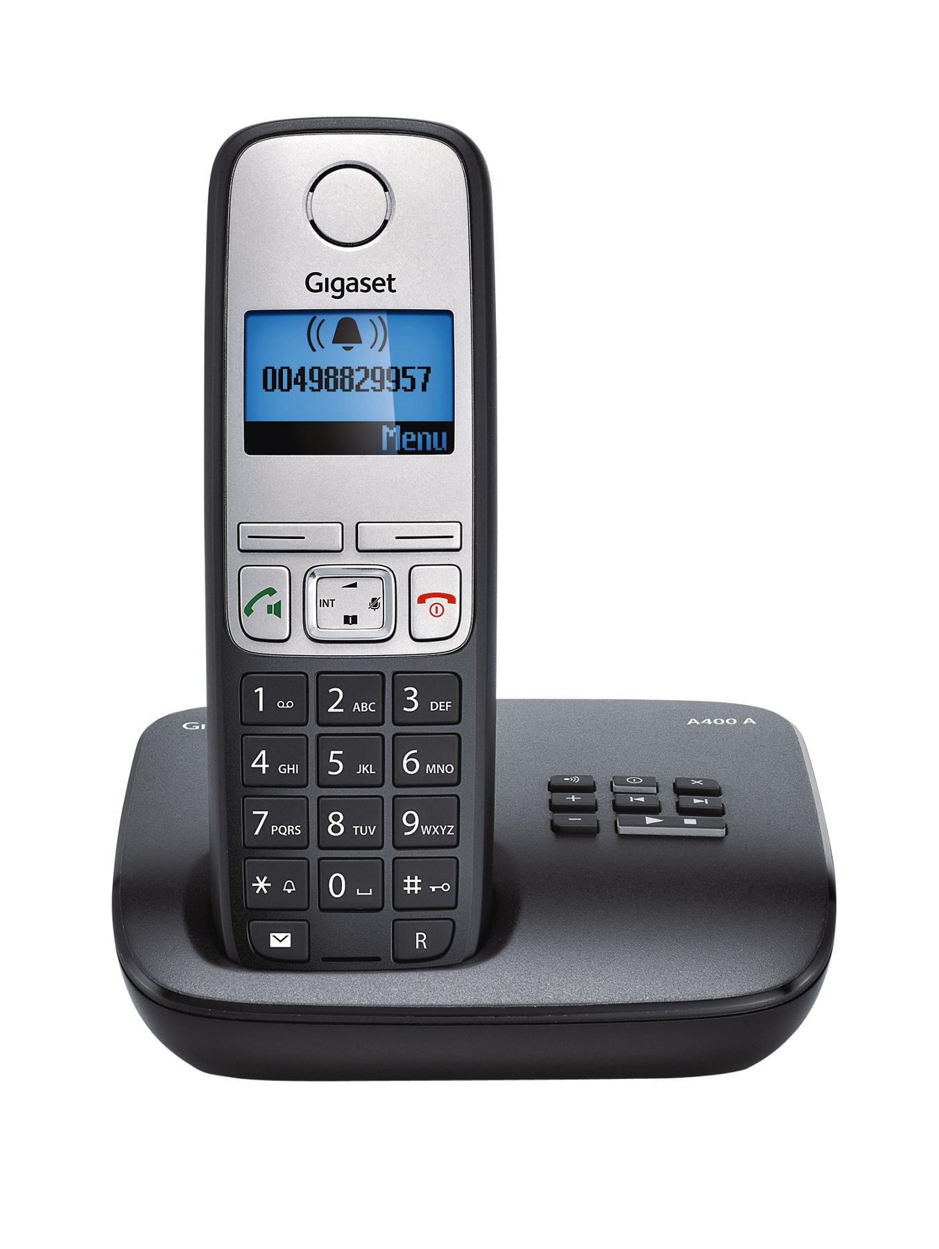 A400A System DECT Telephone - Black
