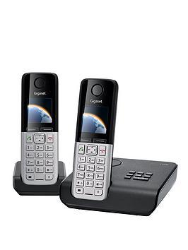 gigaset-c300a-twin-dect-phones-black