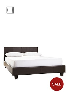 prado-faux-leather-bed-frame