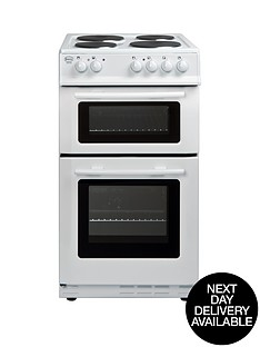 swan-50-cm-twin-cavity-electric-cooker-white-next-day-delivery