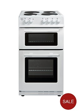 swan-sx2010w-50cm-twin-cavity-electric-cooker-next-day-delivery-white