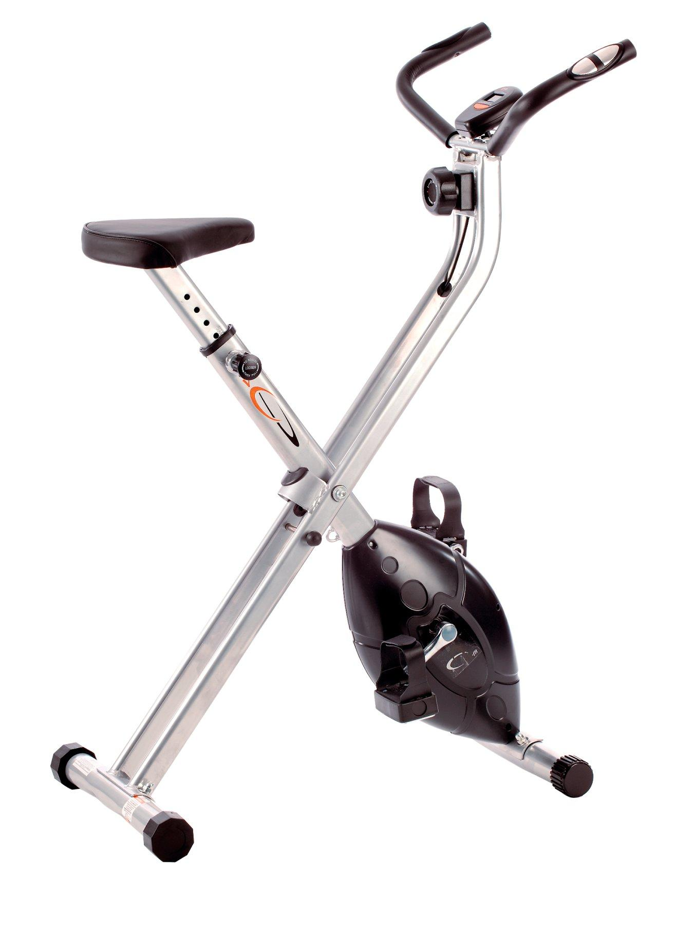 Folding X-Frame Cycle Exercise Bike