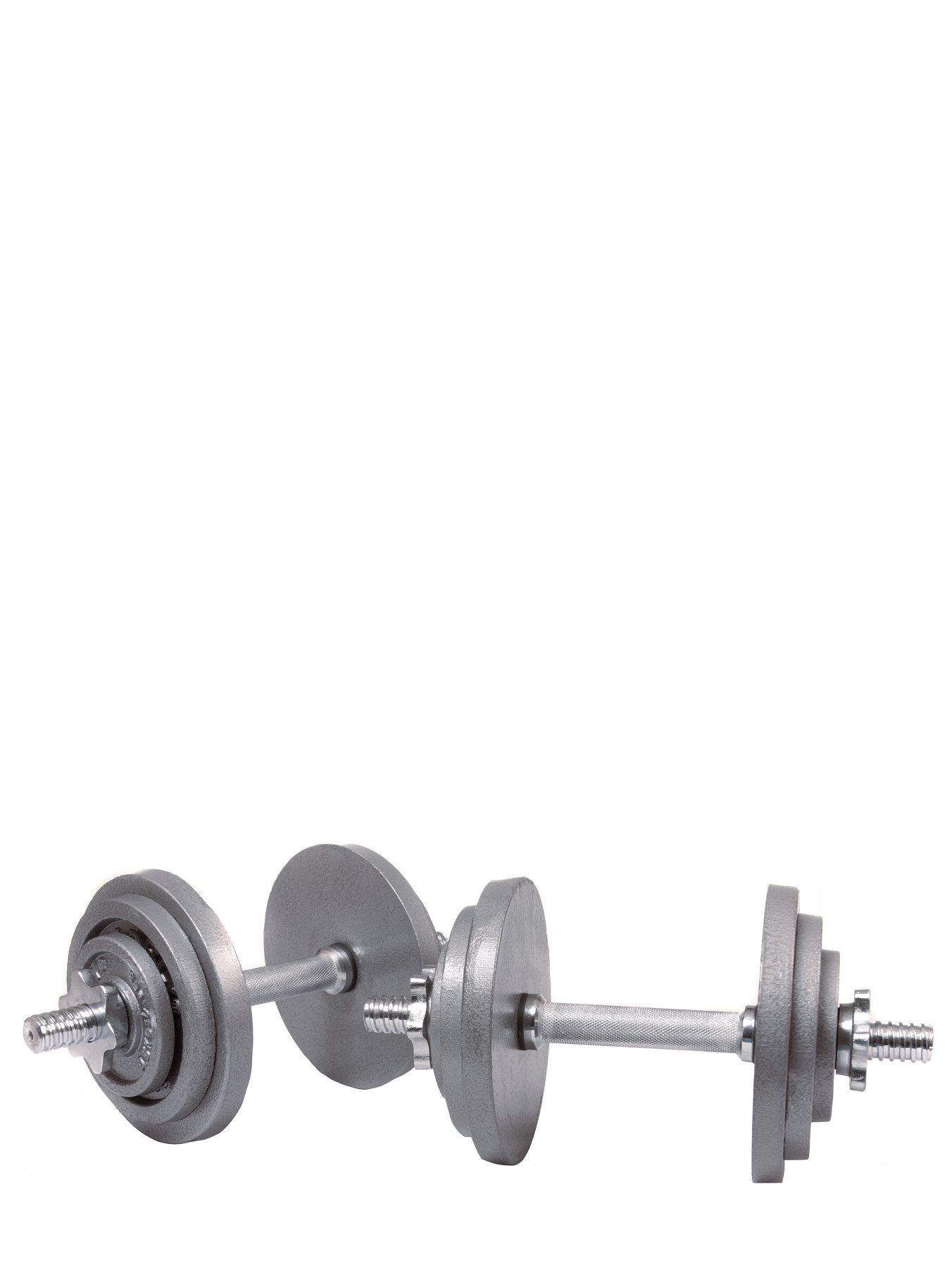 20kg Cast Iron Dumbbell Set
