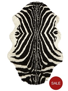 animal-print-faux-fur-rug