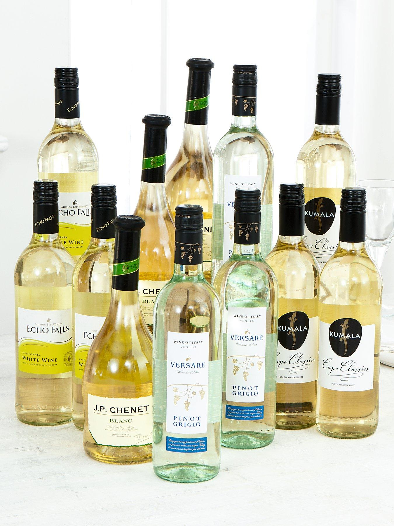12 Bottles of White Wine Pack