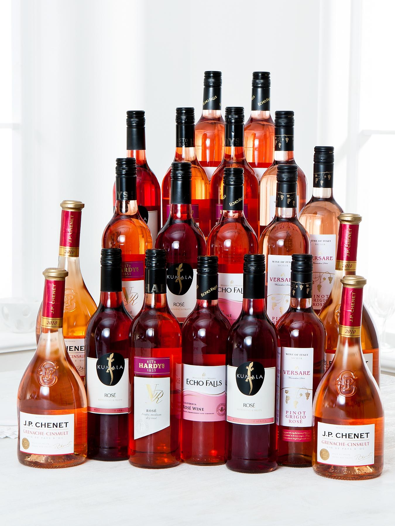 20 Bottle Rose Wine Pack