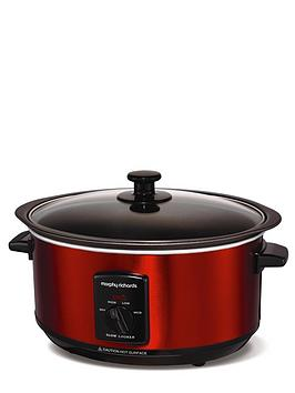 morphy-richards-48702-35-litre-slow-cooker-red