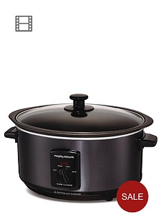 morphy-richards-48703-35-litre-slow-cooker-black