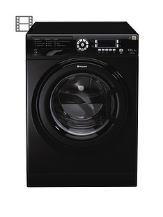 hotpoint-ultima-wdud9640k-1400-spin-9kg-wash-6kg-dry-washer-dryer-black