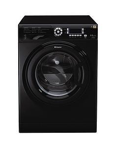 hotpoint-wdud9640kl-96kg-load-1400-spin-washer-dryer-black