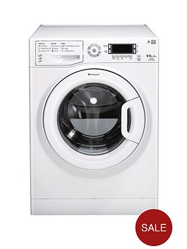 hotpoint-wdud9640p-96kg-load-1400-spin-washer-dryer-polar
