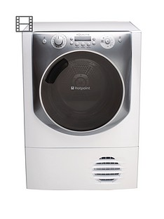 hotpoint-aqualtis-aqc94f7e1m-9kg-load-condenser-tumble-dryer-white