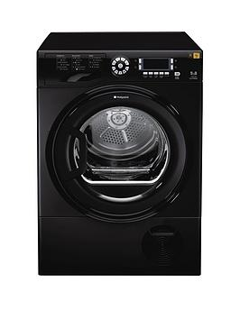hotpoint-tcud97b6k-9kg-load-condenser-tumble-dryer-black