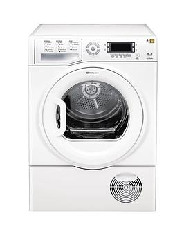 hotpoint-tcud97b6p-9kg-load-condenser-tumble-dryer-white