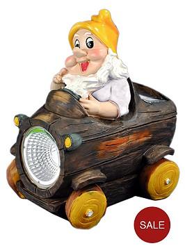 solar-light-gnome-car