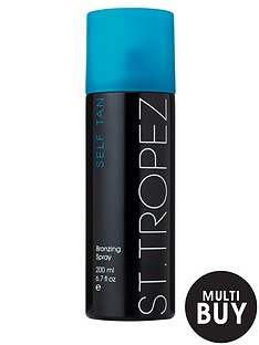 st-tropez-self-tan-dark-bronzing-spray-200ml-and-free-st-tropez-cosmetic-bag-set