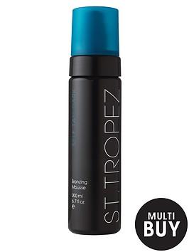 st-tropez-self-tan-dark-mousse-200ml-and-free-st-tropez-cosmetic-bag-set