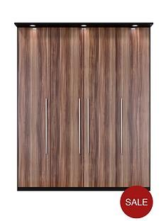 vermont-4-door-3-drawer-wardrobe-with-lights