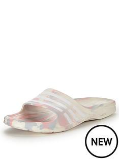 adidas-duramo-sleek-marbled-flip-flops