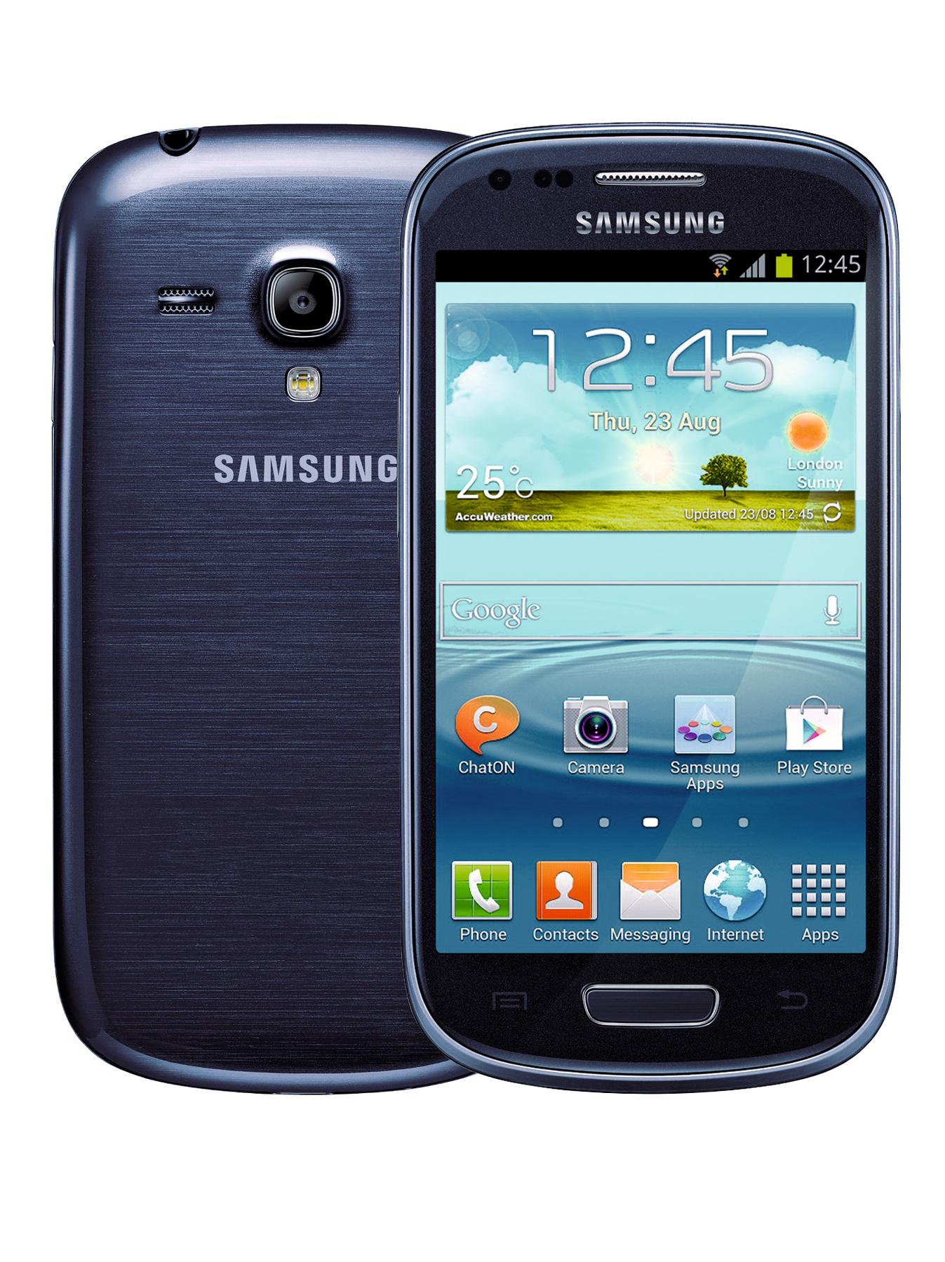 Galaxy S3 Mini 4 inch Smartphone - Blue, Blue