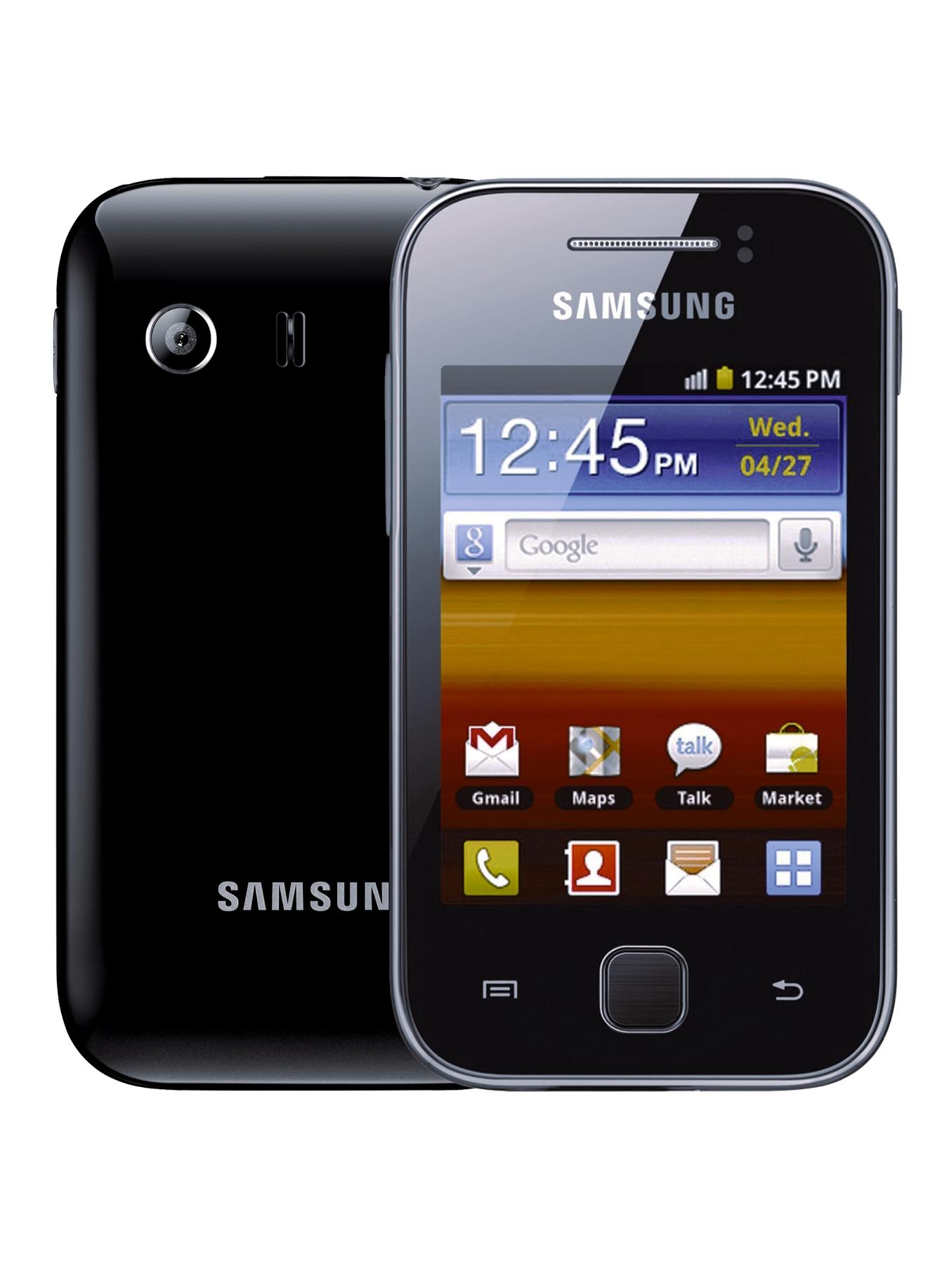 Galaxy Y Smartphone, Black